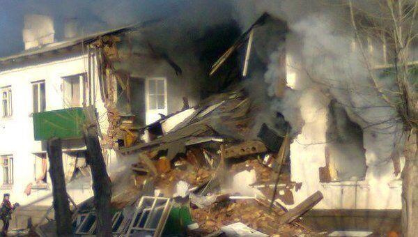 Дом обрушился от взрыва газа в Башкирии, есть пострадавшие