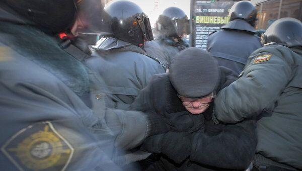 Акция Стратегия-31 в Санкт-Петербурге