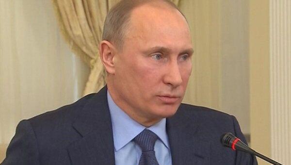Путин заявил, что по политической амнистии в России некого освобождать