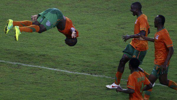 Футболисты Замбии