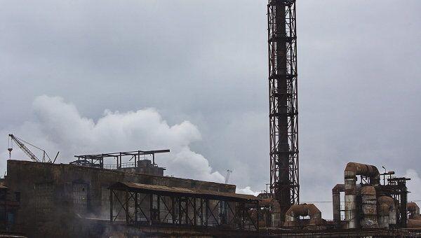 Завод Электроцинк во Владикавказе