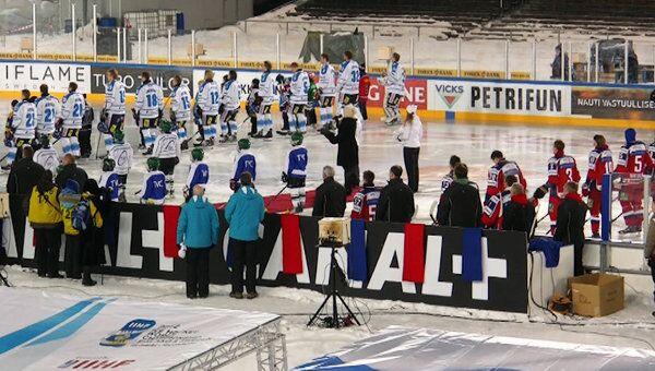 Мороз не помешал хоккеистам сборной РФ выиграть у финнов матч Евротура