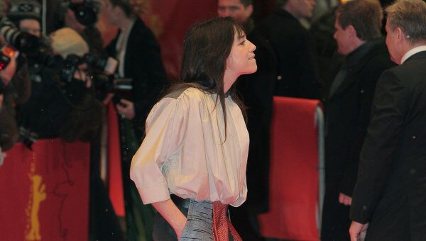 Актриса Шарлотта Генсбур на Берлинале-2012. Архив