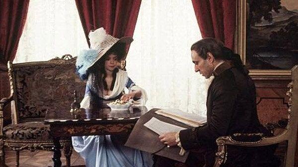 Кадр из фильма Милоша Формана Амадей, 1984