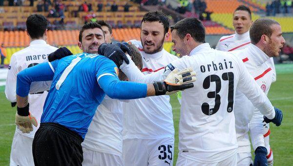 Футболисты Олимпиакоса