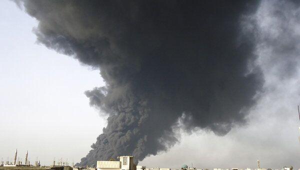 Взрыв в сирийском городе Хомс