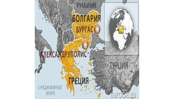 Транснефть не исключает прокладки нефтепровода в обход Болгарии