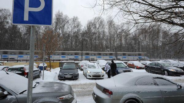 Перехватывающая парковка метрополитена. Архивное фото