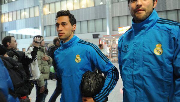 Игроки футбольного клуба Реал Альваро Арбелоа и Рауль Альбиоль. Архивное фото