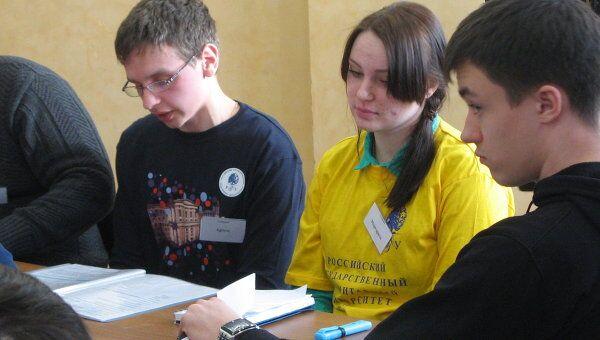 Политическая игра Дебаты для студентов вузов и ссузов в Чехове