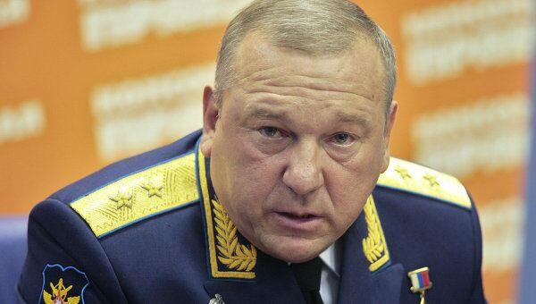 Пресс-конференция командующего Воздушно-десантными войсками генерал-лейтенанта Владимира Шаманова