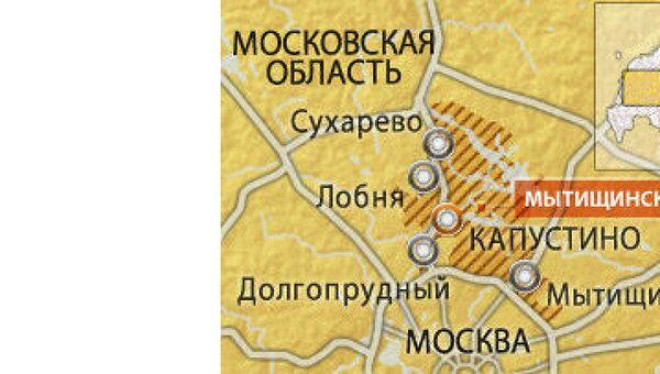 Деревня Капустино Мытищинского района Московской области