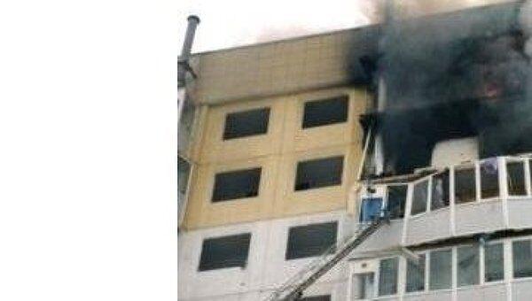 Взрыв газа в жилом доме в городе Строитель