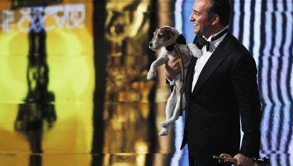 Терьер по кличке Угги стал первой  оскароносной собакой