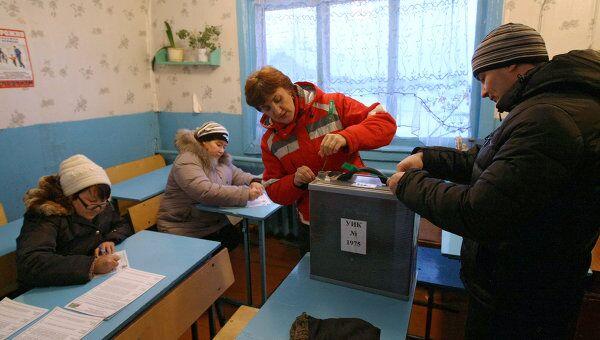 Досрочное голосование по выборам президента РФ в Красноярском крае