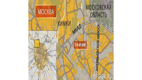 Полиция задержала сбежавших после нападения на склад в Химках бандитов