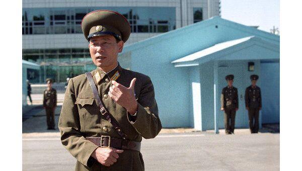 На границе с Южной Кореей на 17-ой параллели