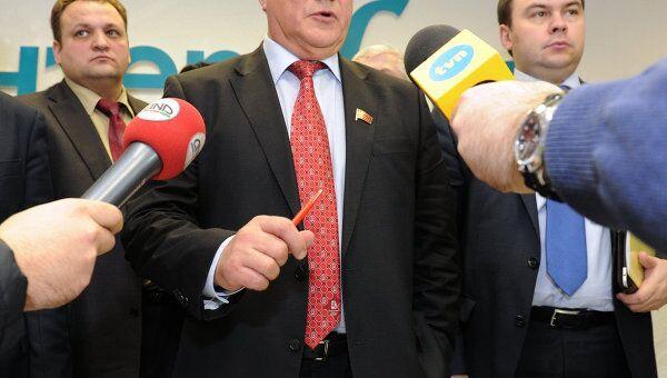 П/к кандидата в президенты РФ, лидера КПРФ Геннадия Зюганова