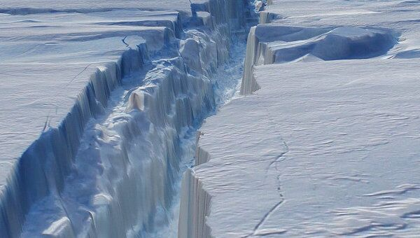 Антарктический ледник. Архив