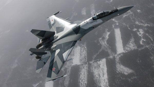 Истребитель Су-35. Архив
