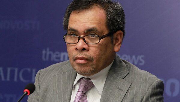Чрезвычайный и полномочный посол республики Индонезия в Российской Федерации Джаухари Оратмангун. Архивное фото