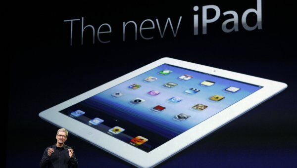 Презентация нового Apple iPad