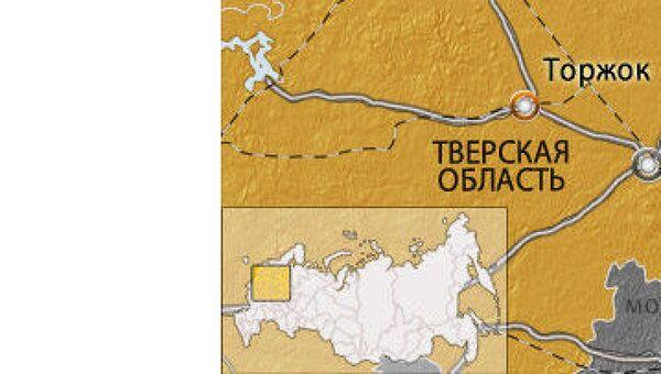 Вертолет Ка-52 потерпел крушение в Торжке