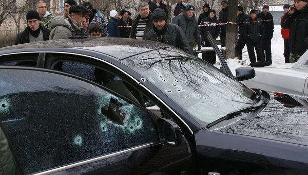 Во Владикавказе убит бывший мэр города Казбек Пагиев