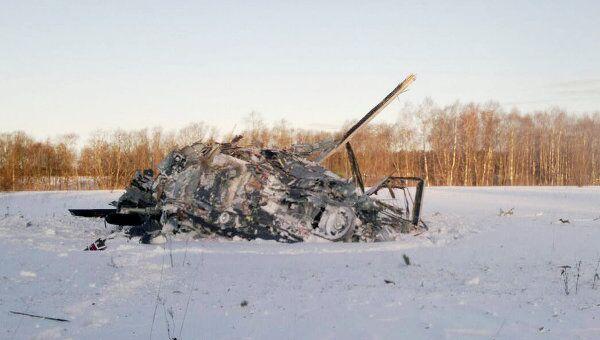 Крушение военного вертолета Ка-52 в Торжке