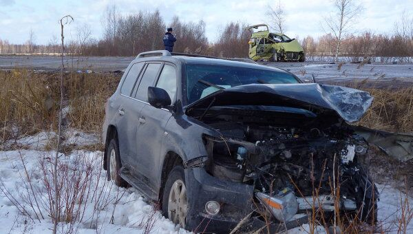Супруга Гарри Минха пострадала в ДТП в Псковской области