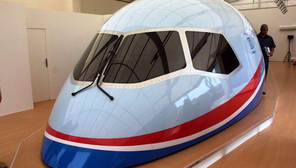 Компания Иркут представила макет авиалайнера МС-21. Архив