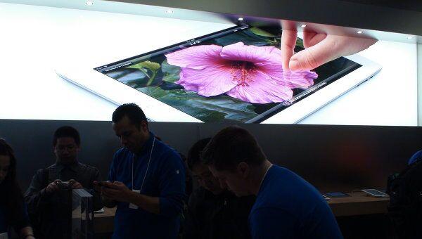 Начало продаж iPad 3 в Нью-Йорке. Архив