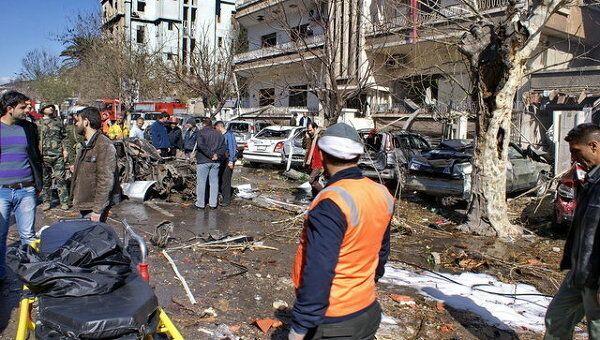 Взрыв Дамаск репортер