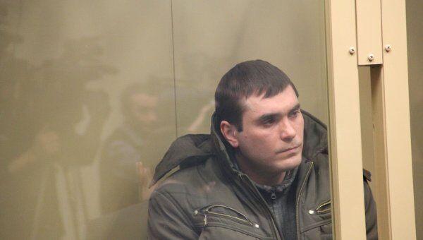 Член банды Сергея Цапка Вячеслав Рябцев на скамье подсудимых
