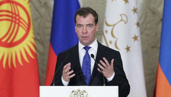 Заседание Межгоссовета ЕврАзЭС состоялось в Большом Кремлевском дворце