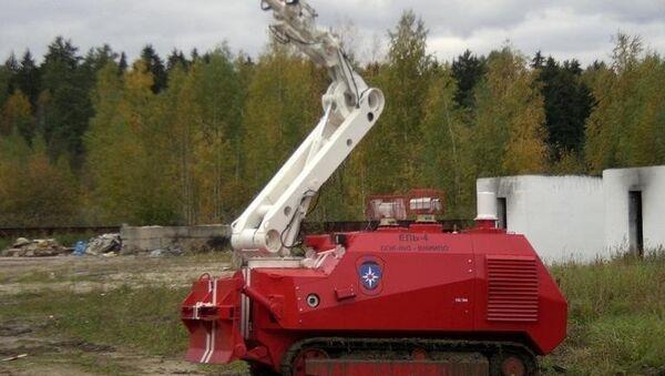 Центр робототехники МЧС будет построен в 2012 году