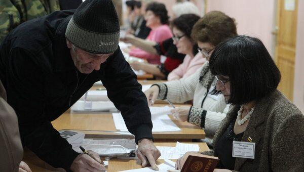 Выборы президента Южной Осетии. Архив