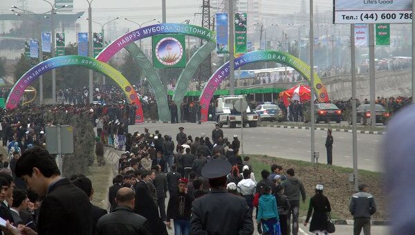 Международный праздник Навруз в Душанбе. Архивное фото