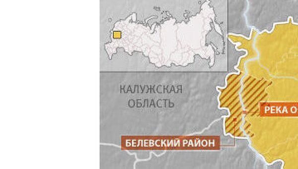 Паводок отрезал от большой земли жителей пяти сел в Тульской области