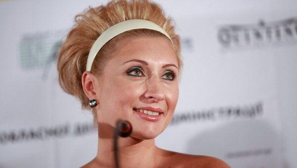 Президент Одесского международного кинофестиваля Виктория Тигипко на пресс-конференции