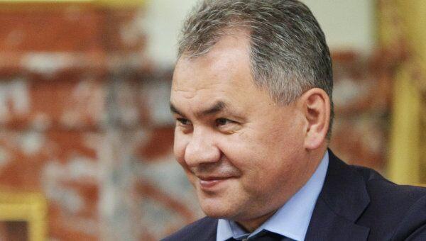 Министр РФ по делам гражданской обороны, чрезвычайным ситуациям и ликвидации последствий стихийных бедствий Сергей Шойгу