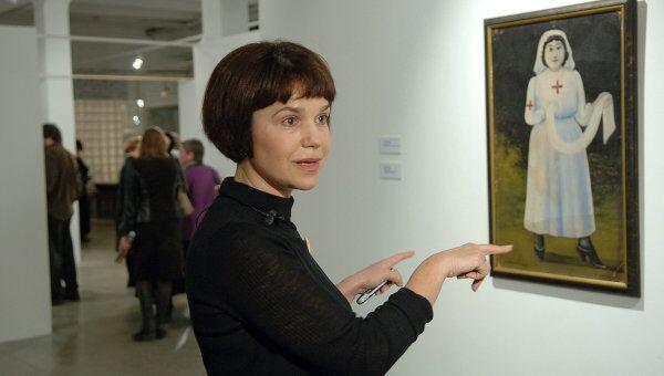 Арт-директор музейно-выставочного объединения Манеж Марина Лошак
