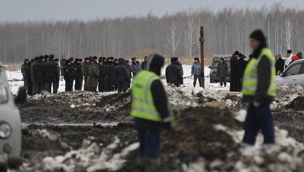 Панихида по погибшим в авиакатастрофе под Тюменью