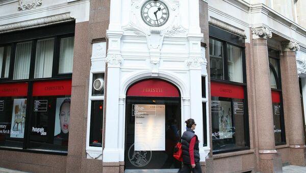 Аукционный дом Christie's. Архивное фото