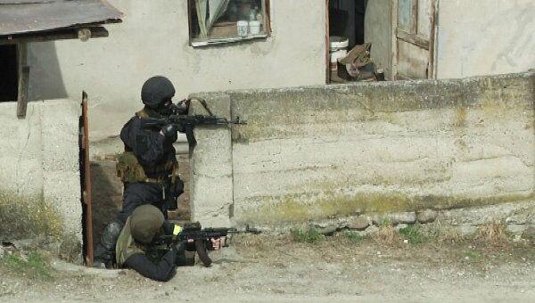 Спецоперация по захвату боевиков в Кабардино-Балкарии. Архивное фото