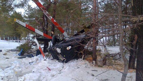 Крушение вертолета Bell-407 в Татарстане
