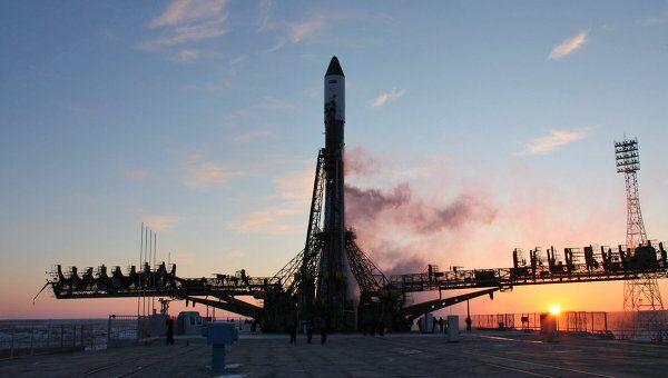 Пуск ракеты-носителя Союз-У