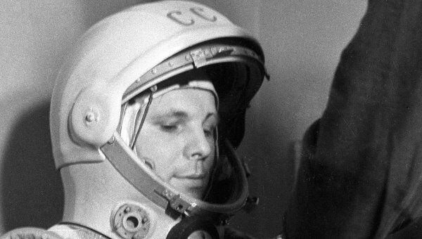 Юбилейное гашение марок пройдет на месте приземления Гагарина