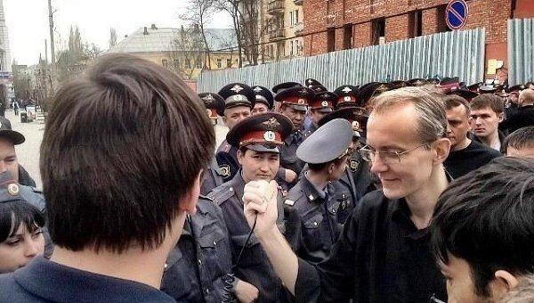 Митинг в Астрахани