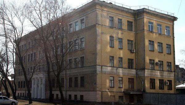 Здание Государственной полярной академии в Санкт-Петербурге